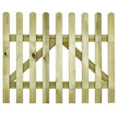 Porte pour clôture droite 80x100 cm