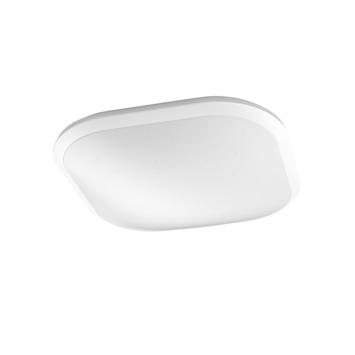 Philips plafonnière Canaval met geïntegreerde LED 1500 Lm 18 W warmwit vierkant wit