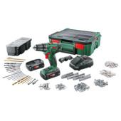 Bosch schroefboormachine accu PSR1800 systembox met 2 accu's en lader
