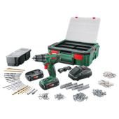 Perceuse-visseuse sans fil PSR1800 LI-2 systembox Bosch