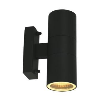 Applique d'extérieur Edmonton noire 2-ampoules GAMMA