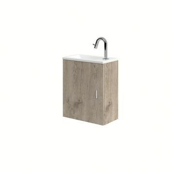 Bruynzeel Evi handenwassermeubel 40x22x50 cm eiken