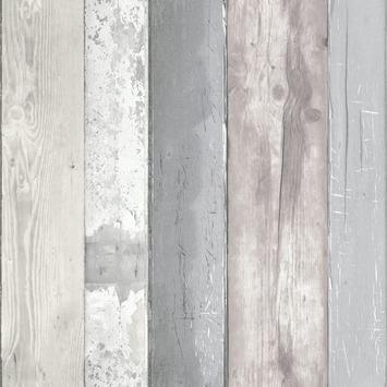 Nieuw vtwonen Vliesbehang Hout grijs 50-159 | behang | GAMMA.be OD-29