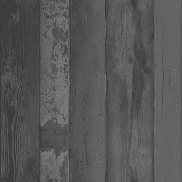 Intissé coloré VT motif noir  2234-00 10 m x 52 cm