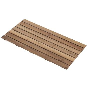 Dalle de jardin en bois dur 100x50 cm