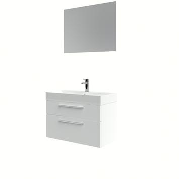 Bruynzeel Zelda badmeubelset incl. spiegel 80 cm wit