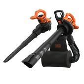 Aspirateur à feuilles électrique 2900 W Black+Decker BEBLV290 backpack
