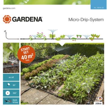 Gardena Micro-Drip startset voor bloembedden en moestuinen