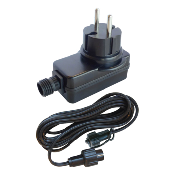 Transformateur et câble pour éclairage de jardin Ludeco
