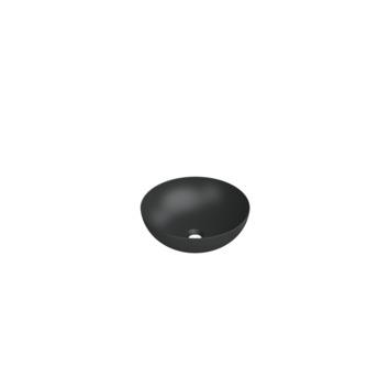 Bruynzeel waskom Moreno 38 cm mat zwart