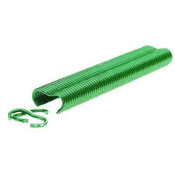 Rapid hekwerkringen VR16 geplastificeerd groen 400 stuks