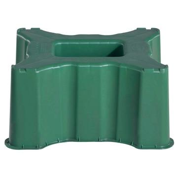 Garantia  Regenton Standaard Groen vierkant voor regenton 300 liter