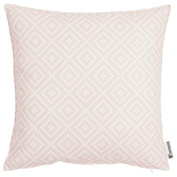 Tuinkussen Diamond 47x47 cm roze