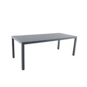 Table Livorno anthracite 210x90 cm