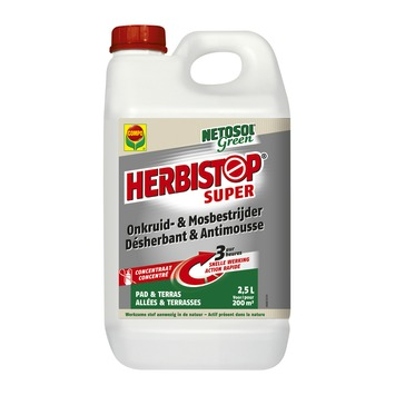 Compo Netosol Green Herbistop Super voor pad en terras 2,5 liter