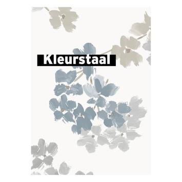 Behangstaal vliesbehang Bloesem blauw 2258-41