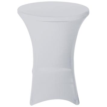 Housse pour mange-debout Ø80-85 cm blanc