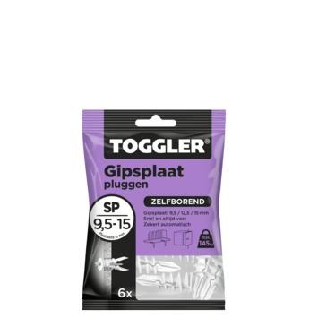 Cheville à placoplâtre Toggler SP6 6 pièces
