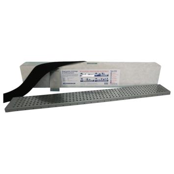 Set bloc de drainage et grille galva D34 Hydroblob 120x20x15 cm 34 litres