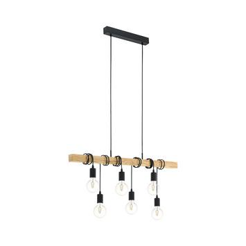 Suspension Eglo Townshend 6 lampes
