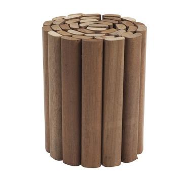 Rolborder hardhout 20x180 cm