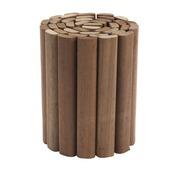 Rouleau de bordure en bois dur 20x180 cm
