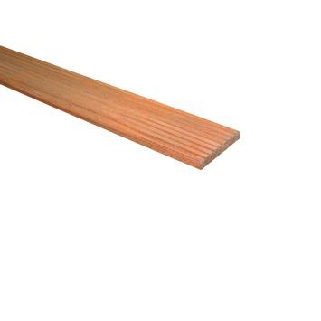Planche de terrasse en bois dur 2,8x14,5x240 cm