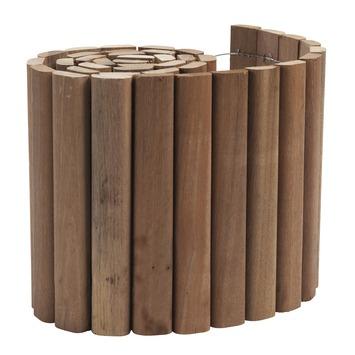 Rouleau de bordure en bois dur 30x180 cm