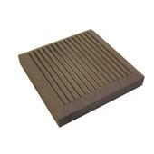 Coiffe pour poteau bois composite Duofuse 11x11x1,7 cm stone grey