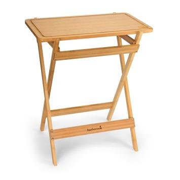 Table de découpe en bois de bambou 81 cm Barbecook