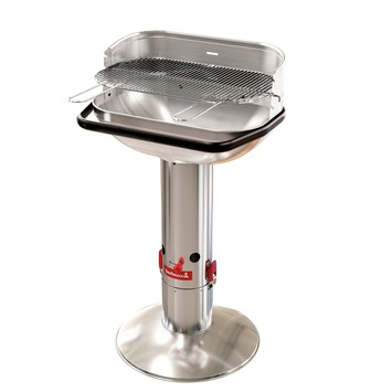 Barbecue charbon de bois Loewy 55 inox Barbecook