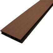 Planche en bois composite Duofuse 2,7x15x180 cm graphite black
