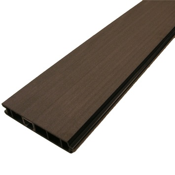 Duofuse plank HKC Kunststof graphite black 15x2,7x180 cm