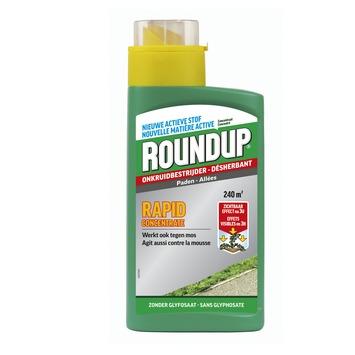Roundup Rapid onkruidbestrijding voor paden 0,54 liter