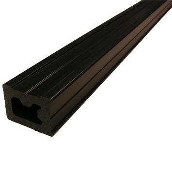 Poutre de sol bois composite Duofuse 4,85x3,5x300 cm noir