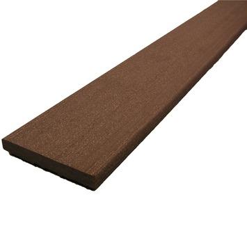 Duofuse plint HKC Kunststof 1,0x7,6x300 cm tropical brown