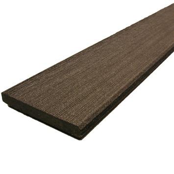 Duofuse plint houtcomposiet 1,0x7,6x300 cm graphite black