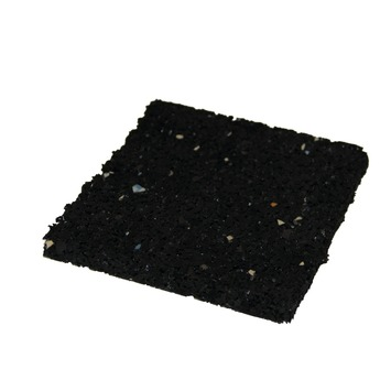 Aquaplan Tegeldrager Rubber Zwart 10x10x1 cm