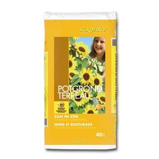 Agrofino terreau pour semis et bouturage 40 l terreau for Entretien jardin 40