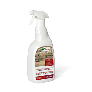 DCM anti-onkruid en anti-mos terras spray 0,75 L