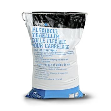 Colle flexible pour carrelage Handson blanc 25kg