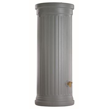 Garantia Muurregenton Romeinse kolom grijs 1000 Liter