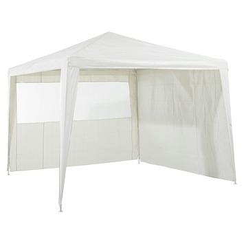 Toile latérale pour tente de jardin Caribe blanc 2 pièces