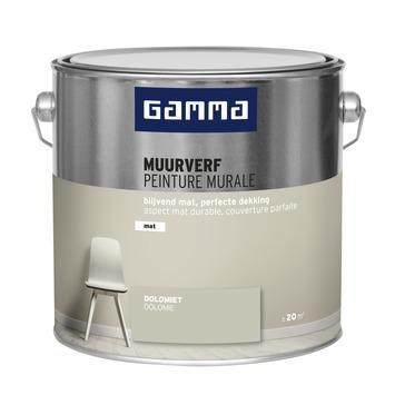 GAMMA muurverf dolomiet mat 2,5 liter