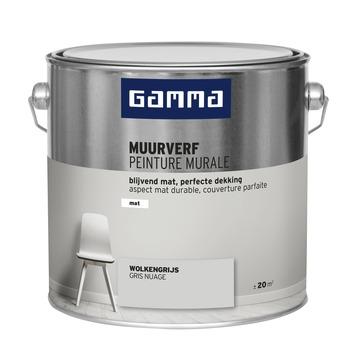 GAMMA muurverf mat wolken grijs 2,5 L