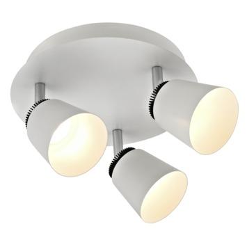 GAMMA opbouwspot Cassino 3-lichts wit