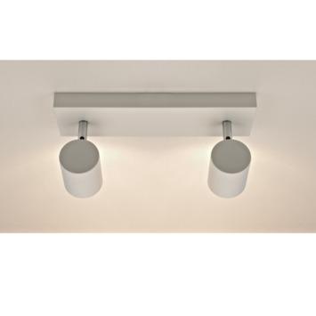 GAMMA opbouwspot Genua 2-lichts mat wit