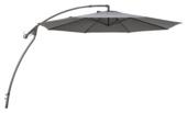 Parasol excentré Florida ø 3 m anthracite
