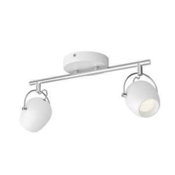 Philips opbouwspot Rivano 2-lichts wit