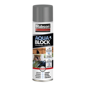 Spray gris Aquablock Rubson 300 ml